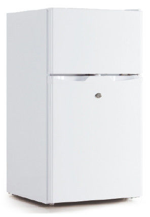 Double Door Manual Defrost Fridge Freezer , Low Noise Top Freezer Fridge