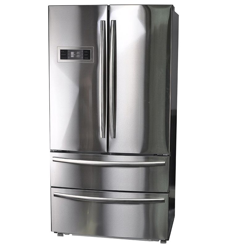 Three Temperature French Fridge Freezer Highly Moisture Retention Technology